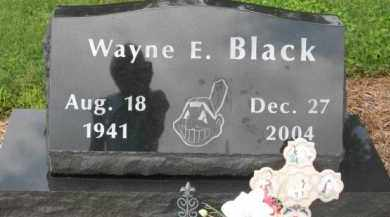 BLACK, WAYNE E. - Holmes County, Ohio | WAYNE E. BLACK - Ohio Gravestone Photos