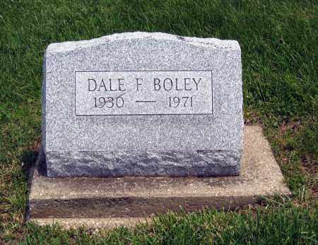 BOLEY, DALE F. - Holmes County, Ohio | DALE F. BOLEY - Ohio Gravestone Photos