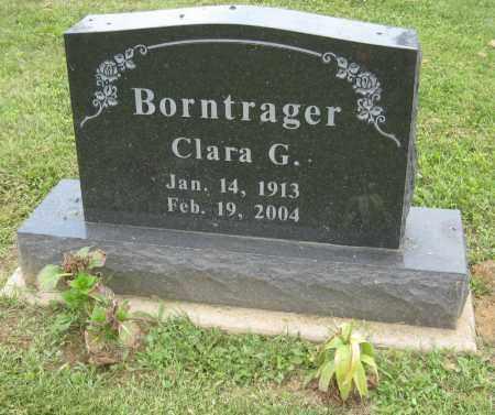 BORNTRAGER, CLARA G - Holmes County, Ohio | CLARA G BORNTRAGER - Ohio Gravestone Photos