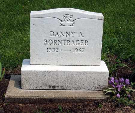 BORNTRAGER, DANNY A. - Holmes County, Ohio | DANNY A. BORNTRAGER - Ohio Gravestone Photos