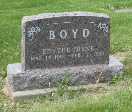 BOYD, EDYTHE IRENE - Holmes County, Ohio | EDYTHE IRENE BOYD - Ohio Gravestone Photos