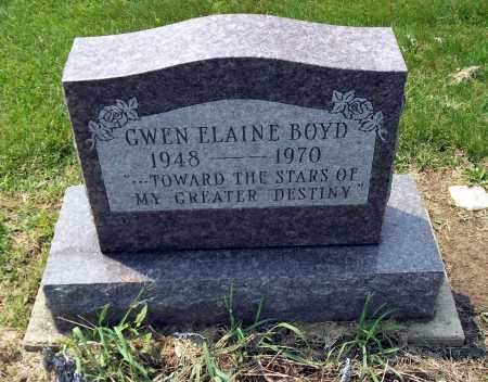 BOYD, GWEN ELAINE - Holmes County, Ohio | GWEN ELAINE BOYD - Ohio Gravestone Photos