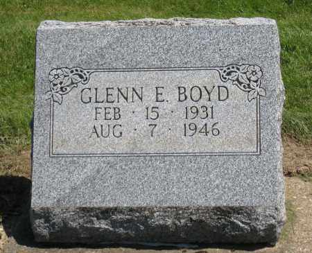 BOYD, GLENN E. - Holmes County, Ohio | GLENN E. BOYD - Ohio Gravestone Photos