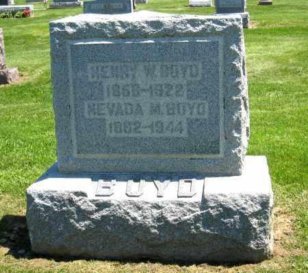 BOYD, HENRY W - Holmes County, Ohio | HENRY W BOYD - Ohio Gravestone Photos