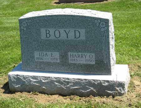 BOYD, IDA E - Holmes County, Ohio | IDA E BOYD - Ohio Gravestone Photos