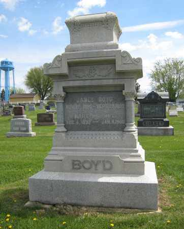 BOYD, JAMES - Holmes County, Ohio | JAMES BOYD - Ohio Gravestone Photos