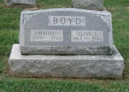 BOYD, OLIVE L - Holmes County, Ohio | OLIVE L BOYD - Ohio Gravestone Photos