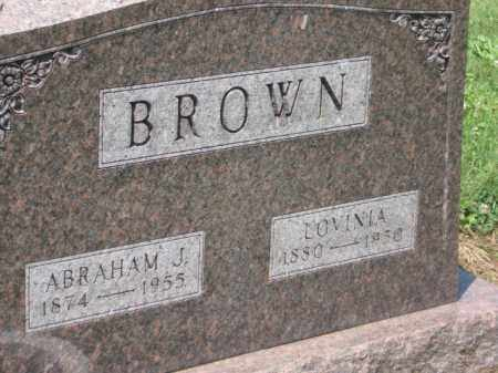 BROWN, ABRAHAM J - Holmes County, Ohio | ABRAHAM J BROWN - Ohio Gravestone Photos