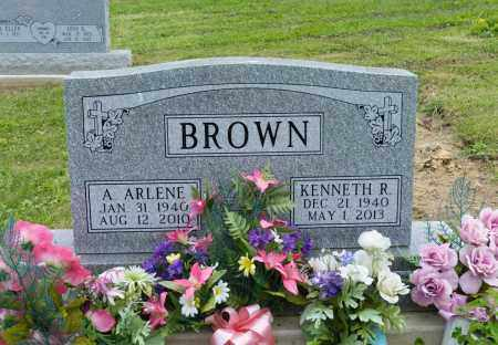 BROWN, A. ARLENE - Holmes County, Ohio | A. ARLENE BROWN - Ohio Gravestone Photos