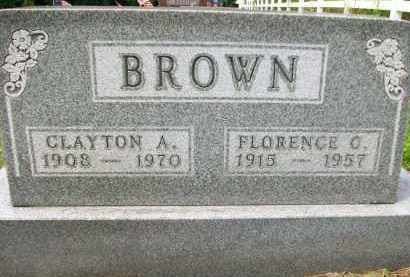 BROWN, CLAYTON A. - Holmes County, Ohio | CLAYTON A. BROWN - Ohio Gravestone Photos