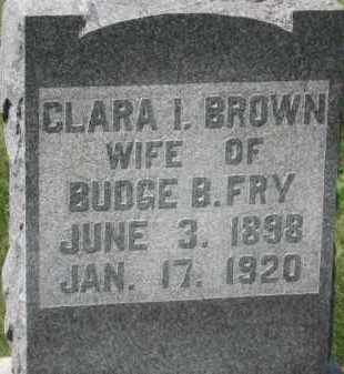 BROWN, CLARA I. - Holmes County, Ohio | CLARA I. BROWN - Ohio Gravestone Photos
