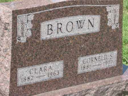 BROWN, CLARA - Holmes County, Ohio | CLARA BROWN - Ohio Gravestone Photos