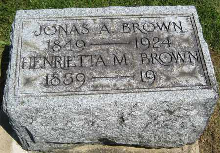 BROWN, HENRIETTA M. - Holmes County, Ohio | HENRIETTA M. BROWN - Ohio Gravestone Photos