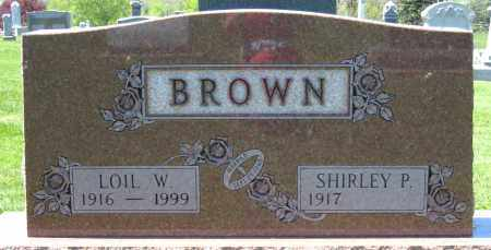 BROWN, LOIL W. - Holmes County, Ohio | LOIL W. BROWN - Ohio Gravestone Photos