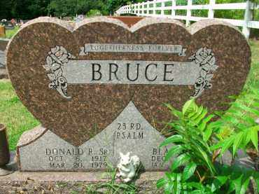 BRUCE, DONALD R. SR - Holmes County, Ohio | DONALD R. SR BRUCE - Ohio Gravestone Photos