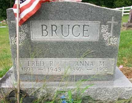 BRUCE, ANNIE M - Holmes County, Ohio | ANNIE M BRUCE - Ohio Gravestone Photos
