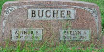 BUCHER, ARTHUR E - Holmes County, Ohio | ARTHUR E BUCHER - Ohio Gravestone Photos