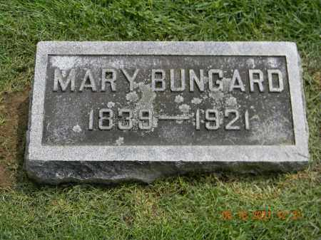 BUNGARD, MARY - Holmes County, Ohio | MARY BUNGARD - Ohio Gravestone Photos