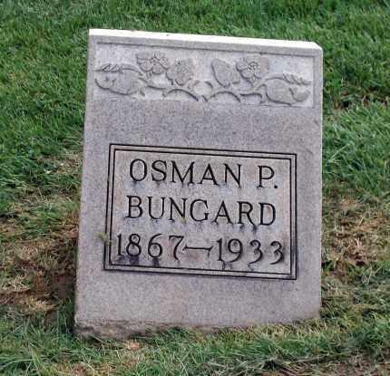 BUNGARD, OSMAN P - Holmes County, Ohio | OSMAN P BUNGARD - Ohio Gravestone Photos