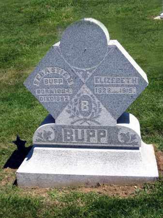 BUPP, ELIZEBETH - Holmes County, Ohio | ELIZEBETH BUPP - Ohio Gravestone Photos
