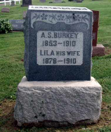 BURKEY, A S - Holmes County, Ohio | A S BURKEY - Ohio Gravestone Photos
