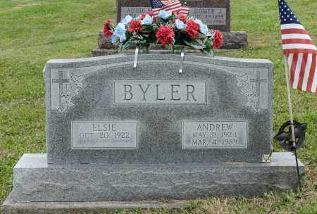 BYLER, ANDREW - Holmes County, Ohio | ANDREW BYLER - Ohio Gravestone Photos