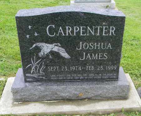 JAMES CARPENTER, JOSHUA - Holmes County, Ohio | JOSHUA JAMES CARPENTER - Ohio Gravestone Photos