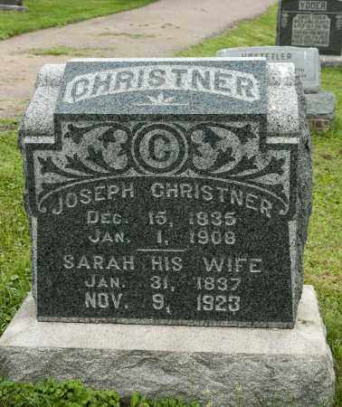 GERBER CHRISTNER, SARAH - Holmes County, Ohio | SARAH GERBER CHRISTNER - Ohio Gravestone Photos