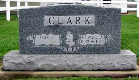 CLARK, HOWARD A. - Holmes County, Ohio | HOWARD A. CLARK - Ohio Gravestone Photos