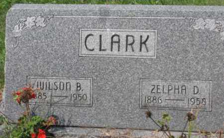 CLARK, ZELPHA D. - Holmes County, Ohio | ZELPHA D. CLARK - Ohio Gravestone Photos