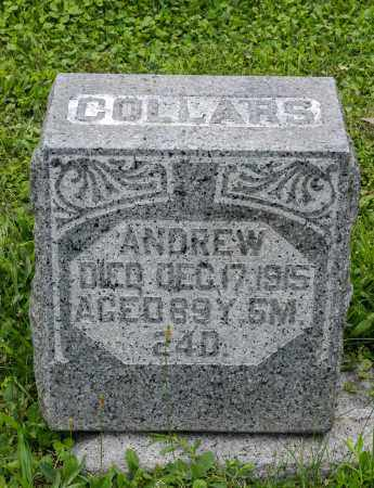 COLLARS, ANDREW - Holmes County, Ohio | ANDREW COLLARS - Ohio Gravestone Photos
