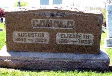 CONOLD, AUGUSTUS - Holmes County, Ohio | AUGUSTUS CONOLD - Ohio Gravestone Photos