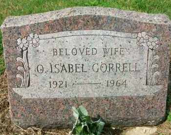 CORRELL, O. ISABEL - Holmes County, Ohio | O. ISABEL CORRELL - Ohio Gravestone Photos