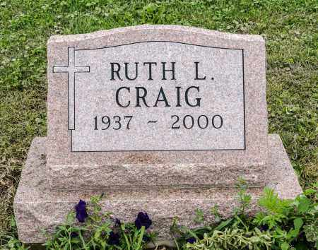 CRAIG, RUTH L. - Holmes County, Ohio | RUTH L. CRAIG - Ohio Gravestone Photos