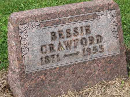 CRAWFORD, BESSIE - Holmes County, Ohio | BESSIE CRAWFORD - Ohio Gravestone Photos