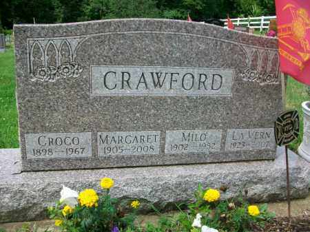 CRAWFORD, MARGARET - Holmes County, Ohio | MARGARET CRAWFORD - Ohio Gravestone Photos