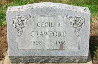 CRAWFORD, CECIL R. - Holmes County, Ohio | CECIL R. CRAWFORD - Ohio Gravestone Photos