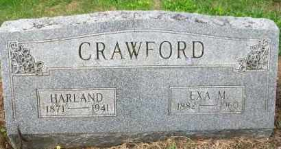 CRAWFORD, EXA M. - Holmes County, Ohio | EXA M. CRAWFORD - Ohio Gravestone Photos
