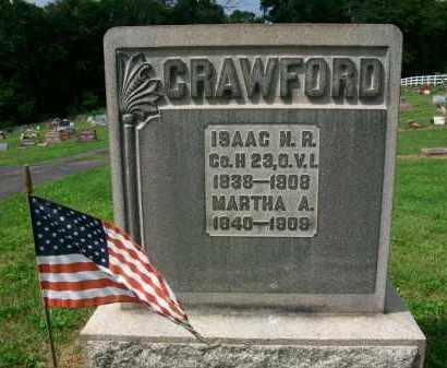 CRAWFORD, ISAAC N.R. - Holmes County, Ohio | ISAAC N.R. CRAWFORD - Ohio Gravestone Photos