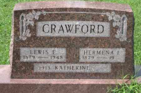 CRAWFORD, LEWIS E. - Holmes County, Ohio | LEWIS E. CRAWFORD - Ohio Gravestone Photos
