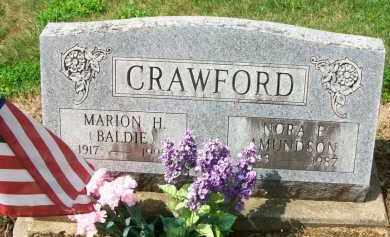 CRAWFORD, MARION H. - Holmes County, Ohio | MARION H. CRAWFORD - Ohio Gravestone Photos