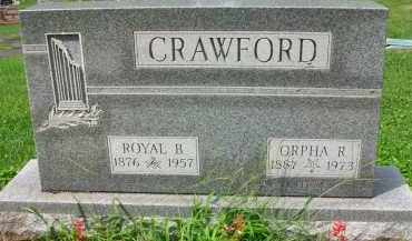 CRAWFORD, ROYAL B. - Holmes County, Ohio | ROYAL B. CRAWFORD - Ohio Gravestone Photos