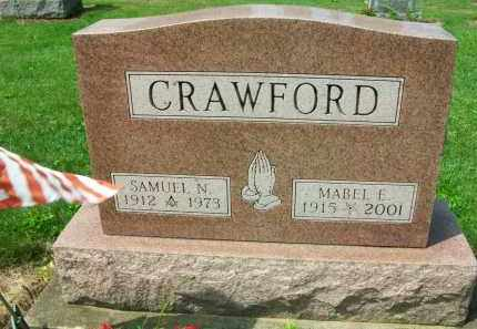 CRAWFORD, MABEL E. - Holmes County, Ohio | MABEL E. CRAWFORD - Ohio Gravestone Photos
