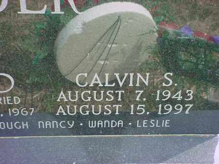 CRIDER, CALVIN S - Holmes County, Ohio | CALVIN S CRIDER - Ohio Gravestone Photos