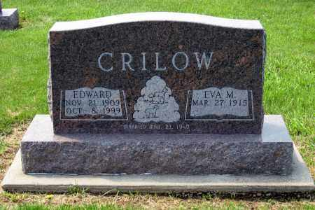 CRILOW, EDWARD - Holmes County, Ohio | EDWARD CRILOW - Ohio Gravestone Photos