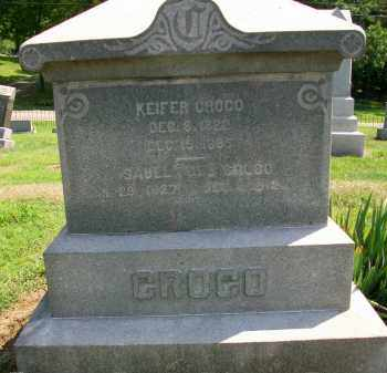 CROCO, KIEFER - Holmes County, Ohio | KIEFER CROCO - Ohio Gravestone Photos