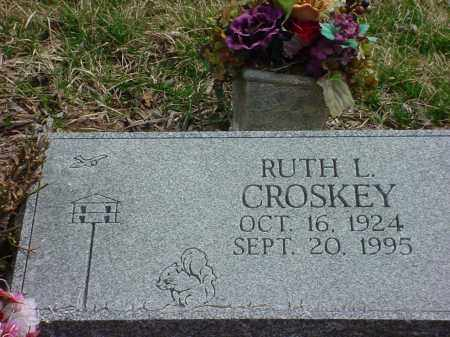 CROSKEY, RUTH L. - Holmes County, Ohio | RUTH L. CROSKEY - Ohio Gravestone Photos