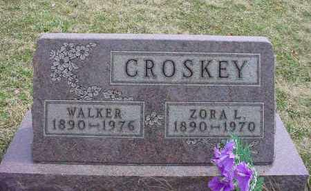 CROSKEY, WALKER - Holmes County, Ohio | WALKER CROSKEY - Ohio Gravestone Photos