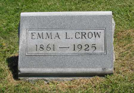 CROW, EMMA L. - Holmes County, Ohio | EMMA L. CROW - Ohio Gravestone Photos