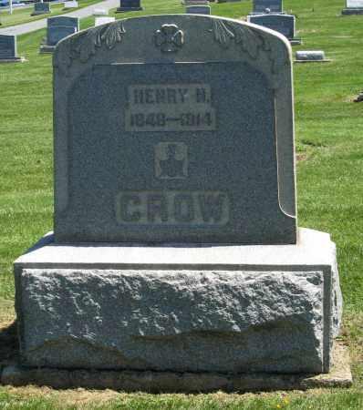 CROW, HENRY N - Holmes County, Ohio | HENRY N CROW - Ohio Gravestone Photos